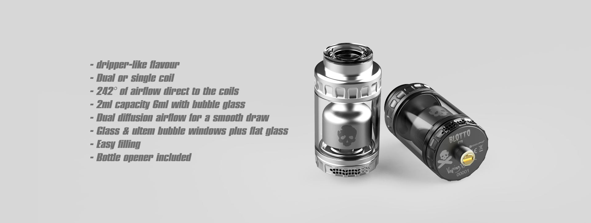 Blotto RTA Features